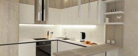 Дизайн кухни в зависимости от площади